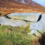 Slievemore Mountain: megalithic tomb