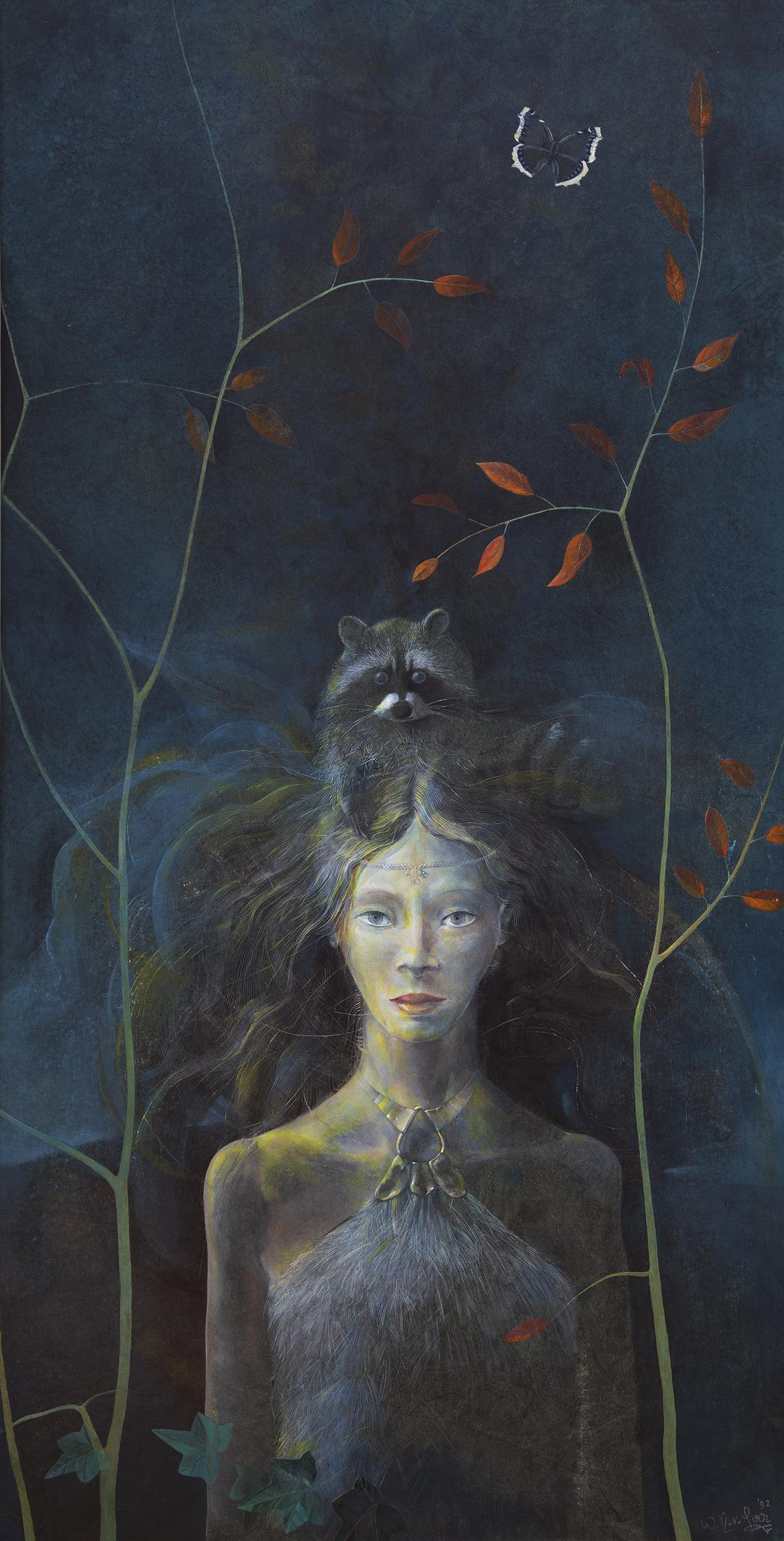 'Meisje met Wasbeer' / 'Girl with Raccoon'